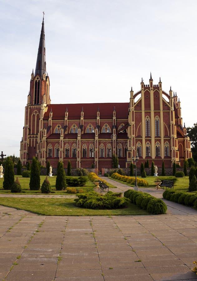 白俄罗斯的天主教 免版税图库摄影
