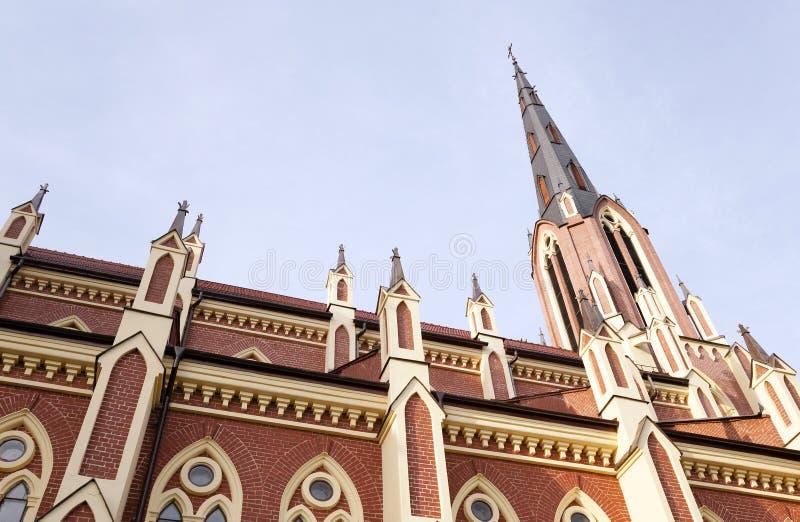 白俄罗斯的天主教 图库摄影