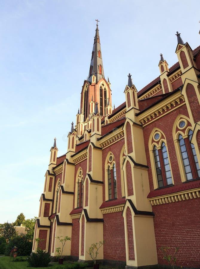 白俄罗斯的天主教 库存照片