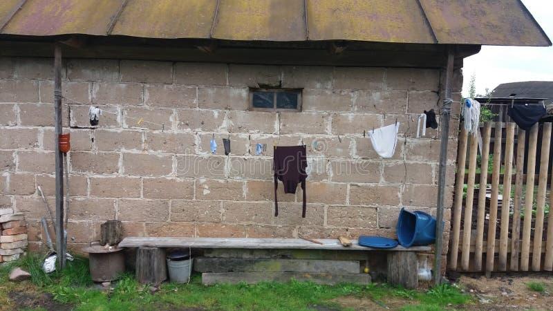 白俄罗斯语村庄 图库摄影