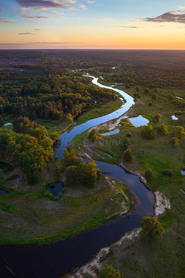 白俄罗斯语风景 图库摄影