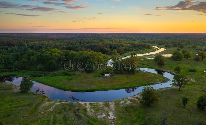 白俄罗斯语风景 库存照片
