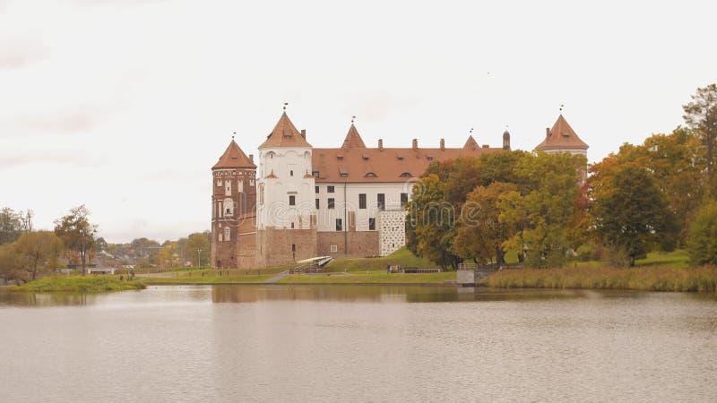 白俄罗斯, Mirsky城堡 免版税库存图片