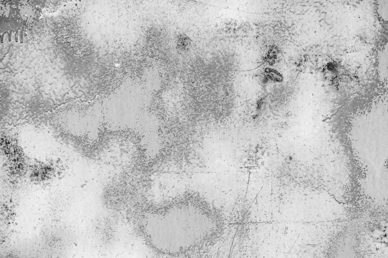 白合金墙壁纹理背景以抓痕 库存图片