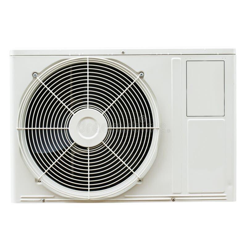 白合金空气压缩机 免版税库存图片