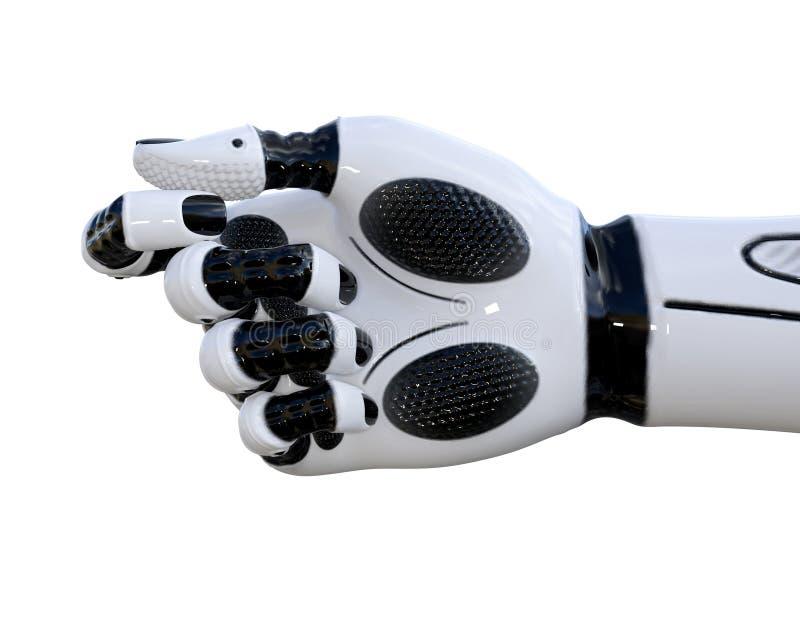白合金droid手势 向量例证