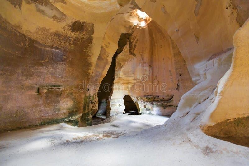 白垩纪深洞 库存图片