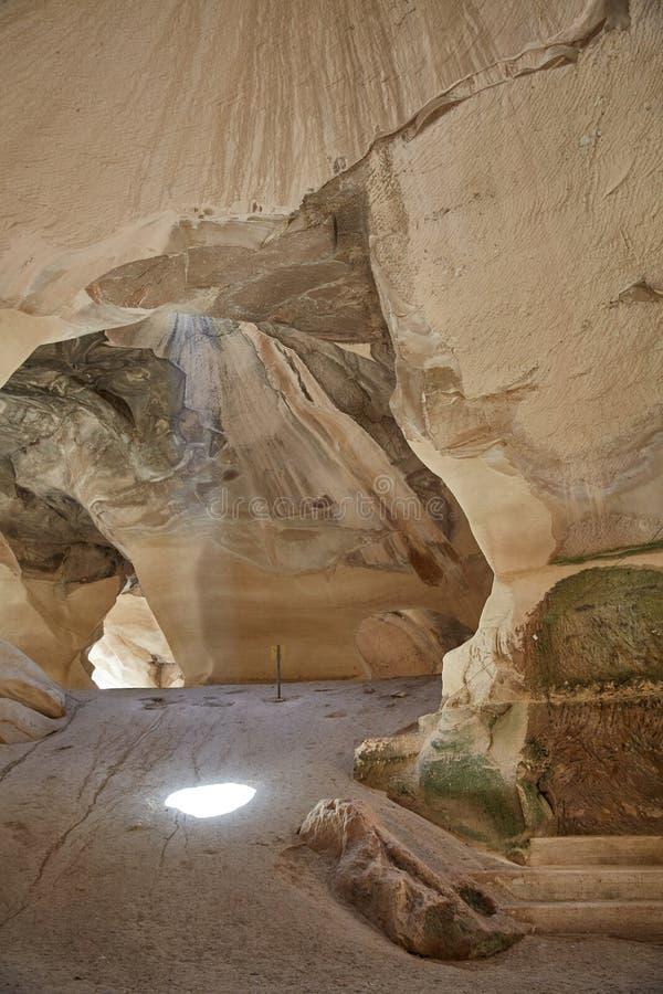 白垩洞,以色列 免版税图库摄影