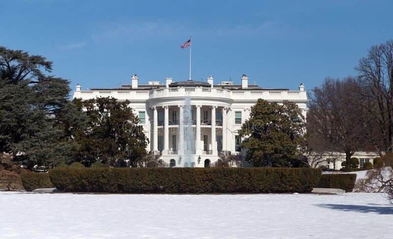 白宫,华盛顿特区 库存照片