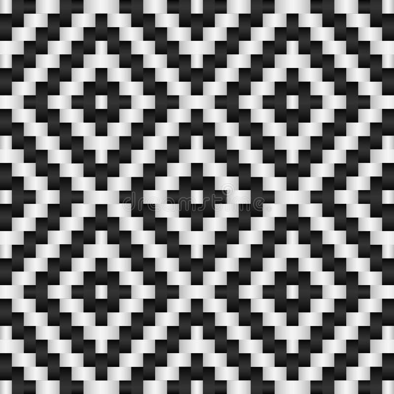 黑白抽象背景 免版税库存照片