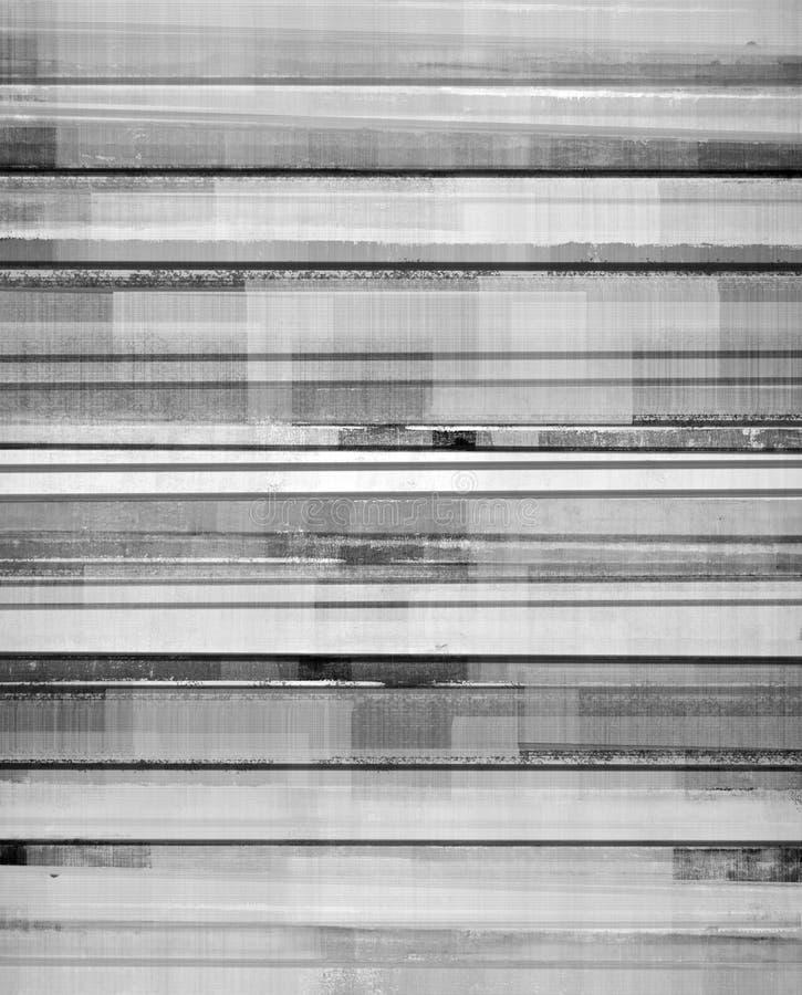 黑白抽象派背景 库存例证
