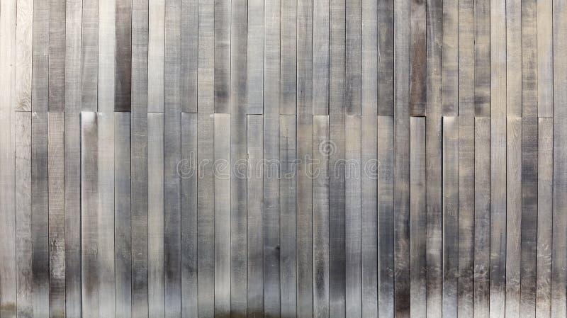 黑白木纹理背景老盘区 免版税库存照片