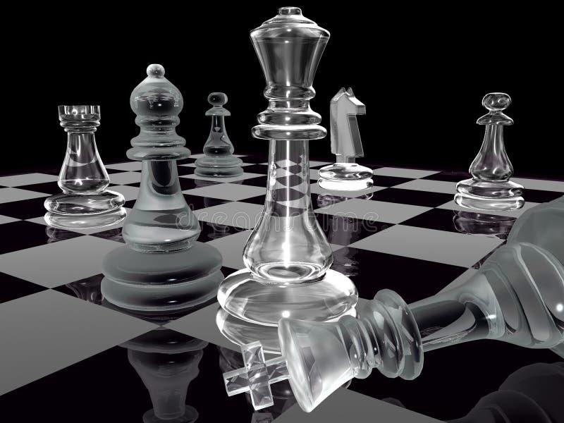 黑白棋 库存图片