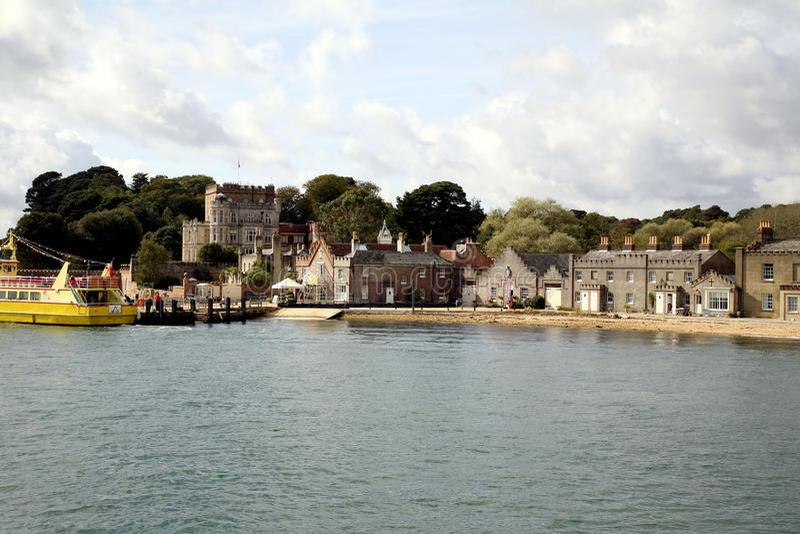 白浪岛, Poole, Doset 图库摄影