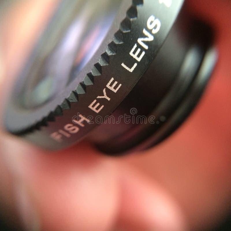 白点透镜 库存图片
