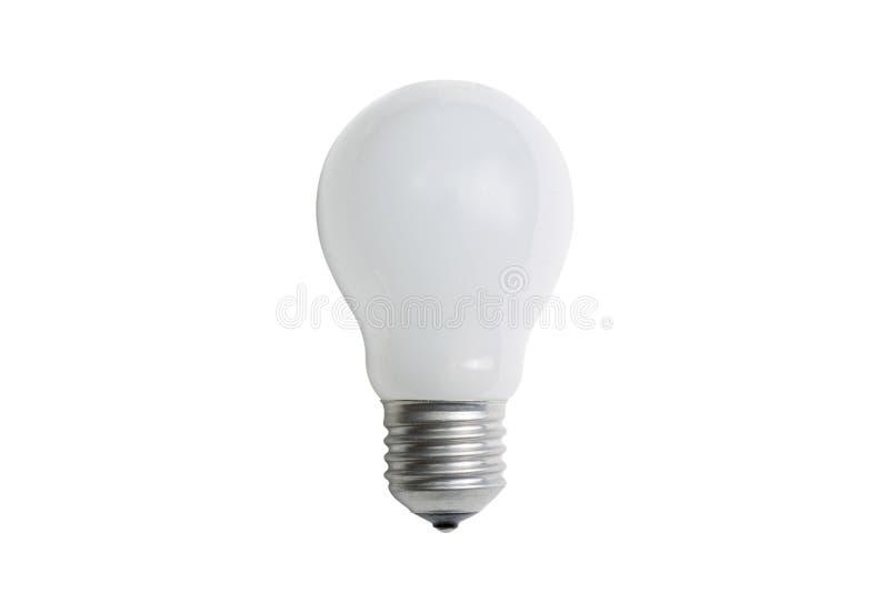 白炽暗淡电灯泡E27 免版税库存图片