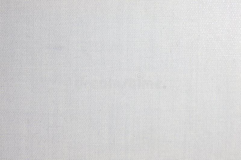 白皮书画布背景纹理 免版税图库摄影
