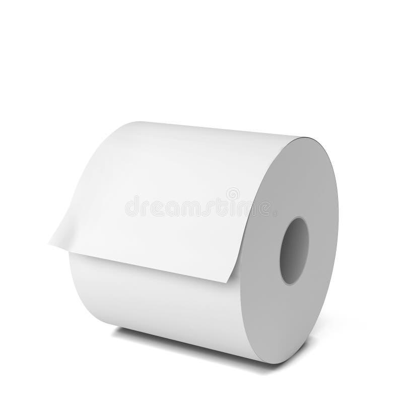白纸卷 向量例证