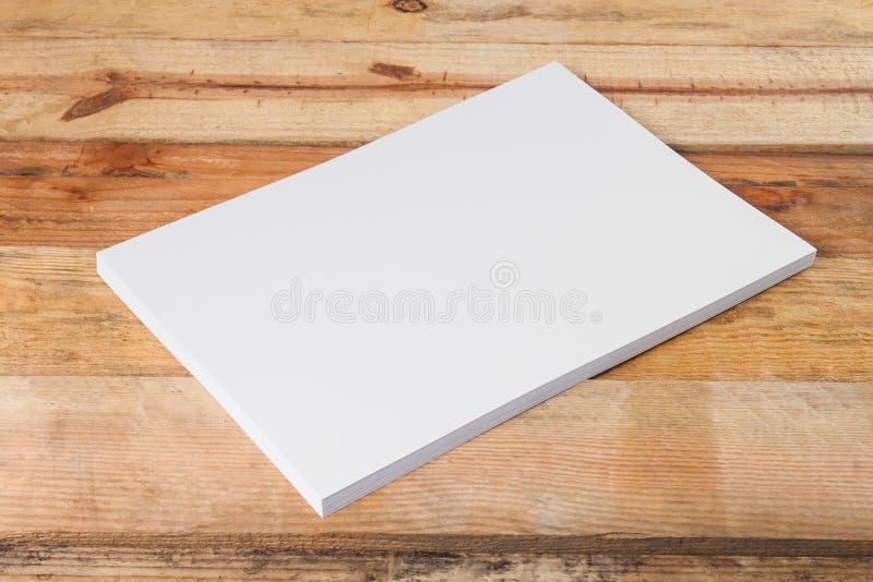 A4白纸堆 库存图片