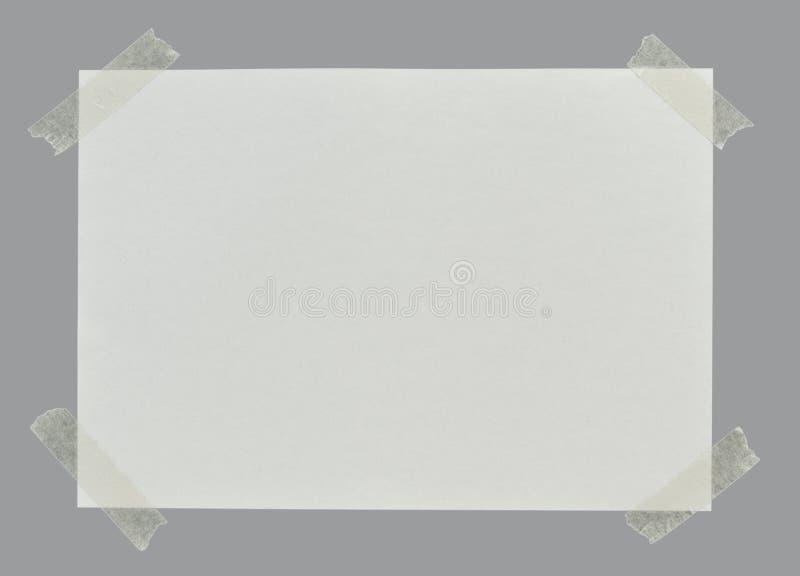 白纸页 免版税库存图片