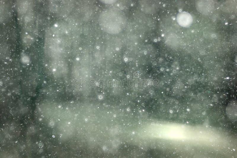 黑白纹理雪 库存图片