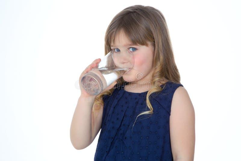 白肤金发的幼儿画象  库存照片