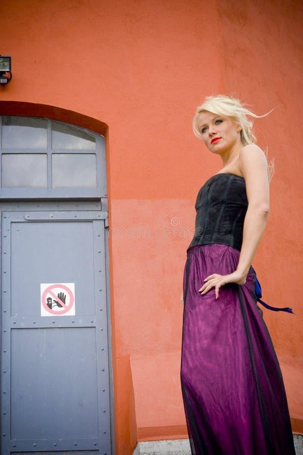 白肤金发的设计 免版税图库摄影