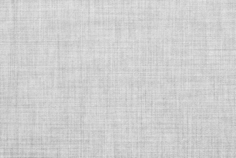白色上色了无缝的亚麻制纹理或织品帆布背景 库存图片