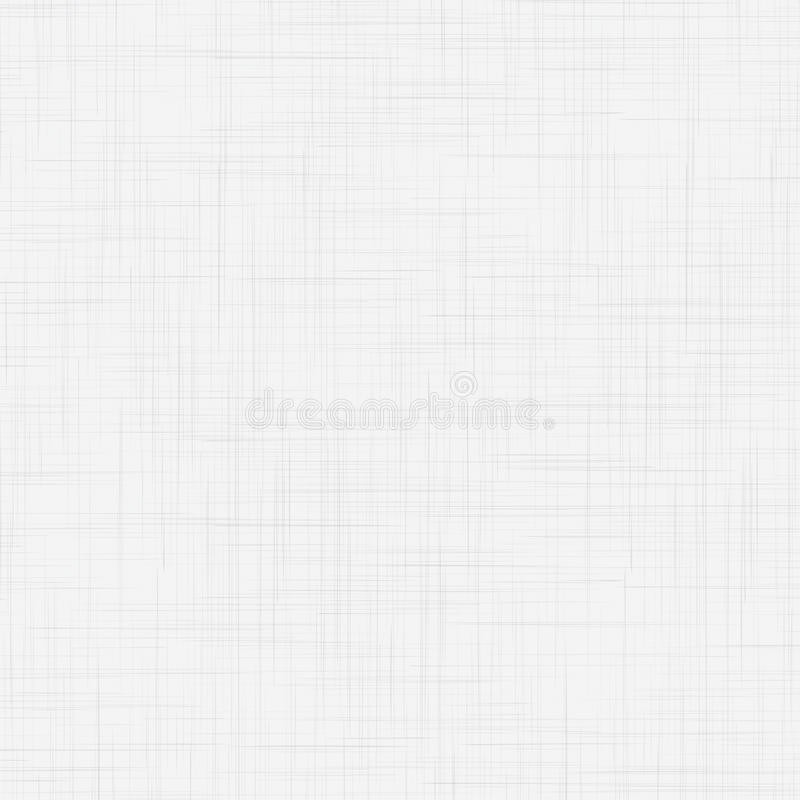 白色亚麻制无缝的纹理 皇族释放例证