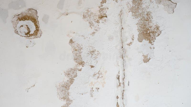 白色具体背景或纹理 免版税图库摄影