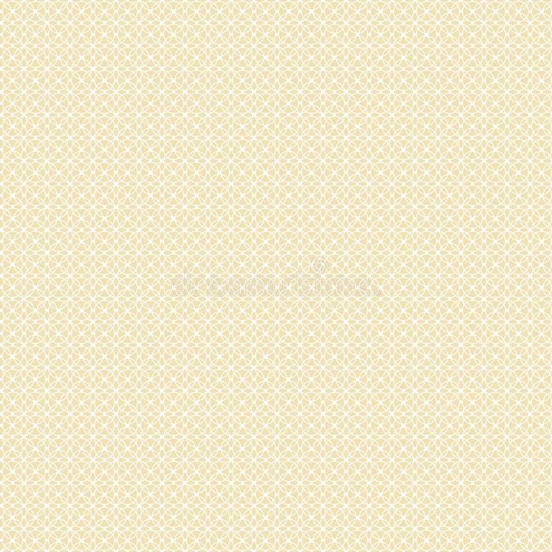 白色几何样式 向量例证