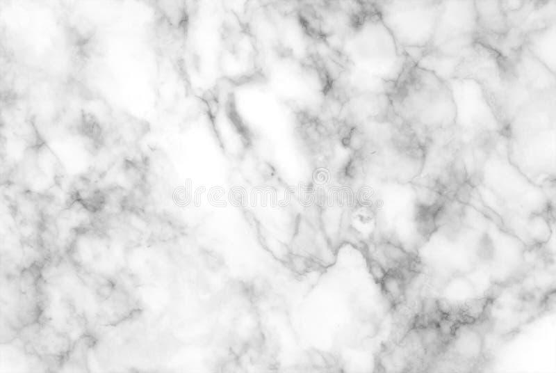 白色和灰色大理石纹理 免版税库存照片