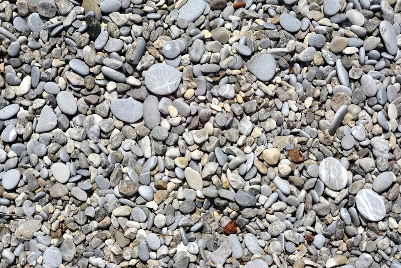 白色和灰色平的光滑的海石头纹理  库存照片