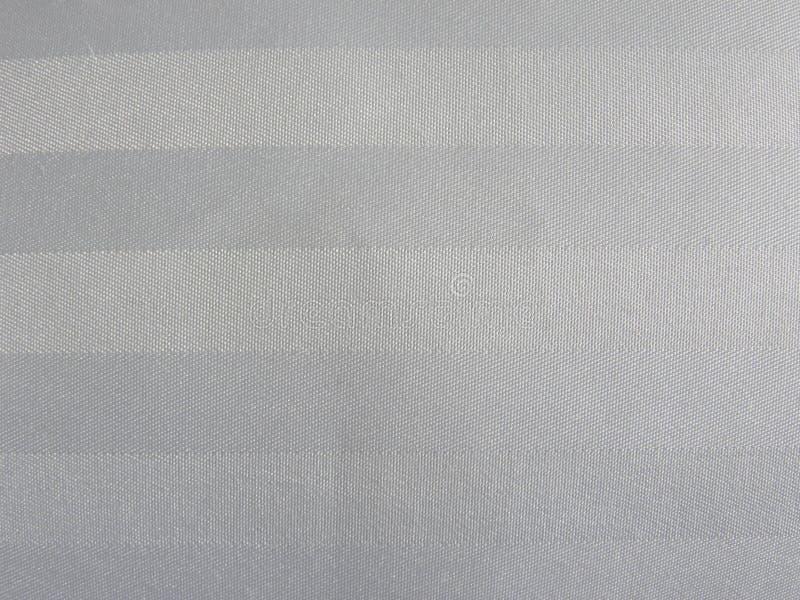 白色和灰色颜色棉织物背景 免版税图库摄影