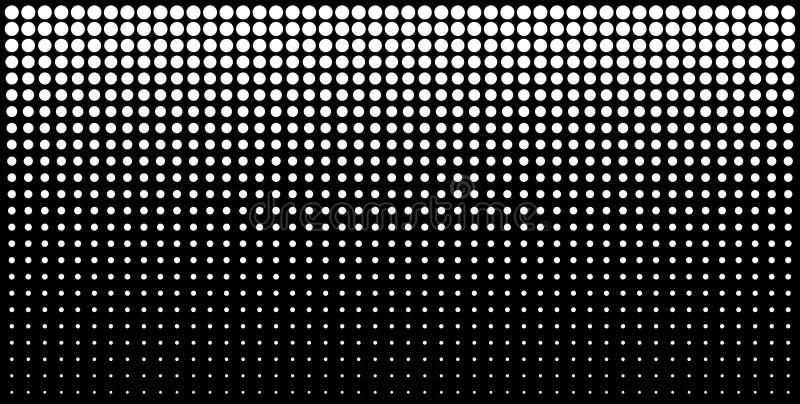白色垂直的梯度中间影调加点背景,使用半音光点图形的水平的模板 也corel凹道例证向量 库存例证