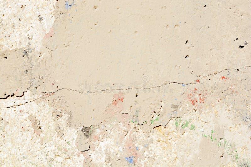 白色墙壁纹理或背景 免版税库存图片
