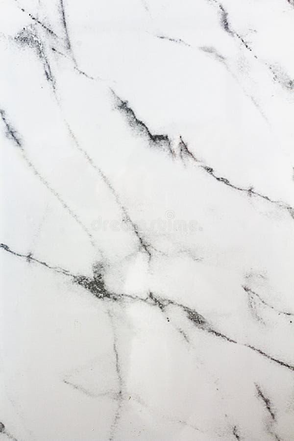 白色大理石作用瓦片背景 库存图片