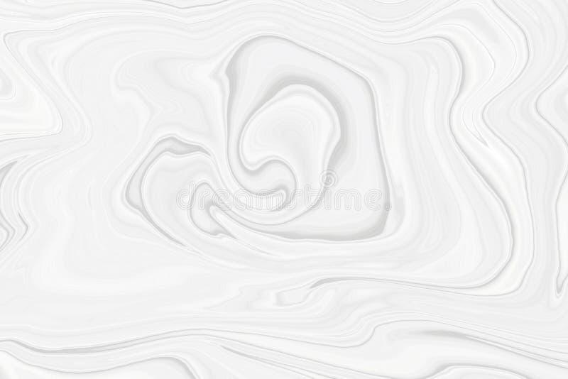 白色大理石纹理包装的样式的在一个现代样式 皇族释放例证