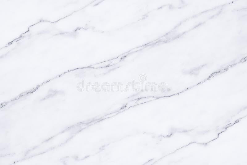 白色大理石纹理和背景 库存照片
