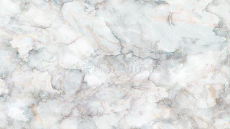 白色大理石纹理背景,从自然的详细的真正大理石 免版税图库摄影