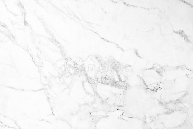 白色大理石被仿造的纹理背景 免版税库存照片