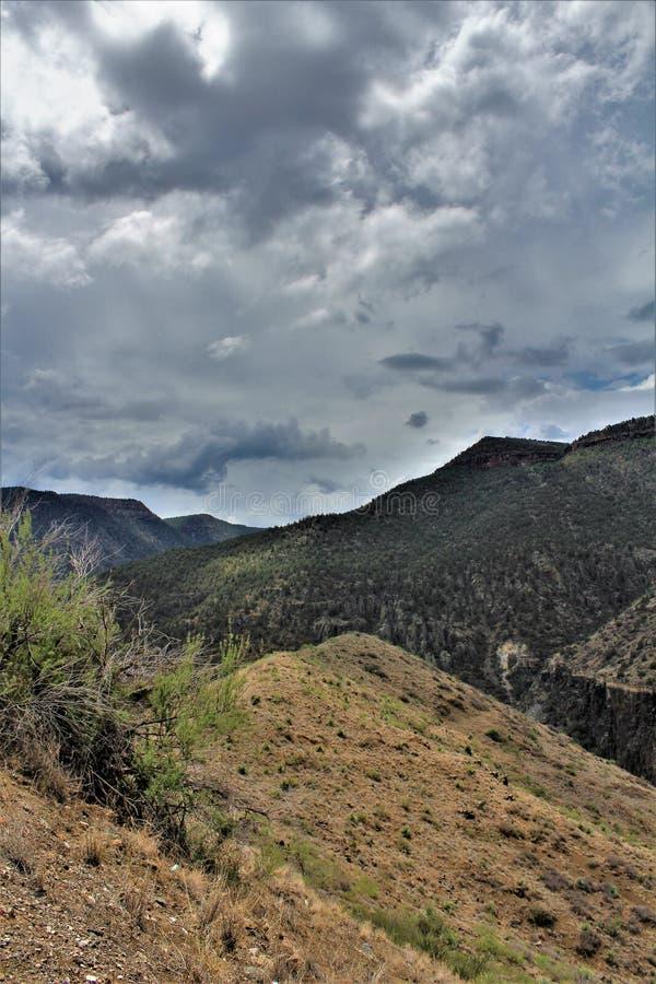 白色山亚帕基印第安保护区,亚利桑那,美国 库存照片