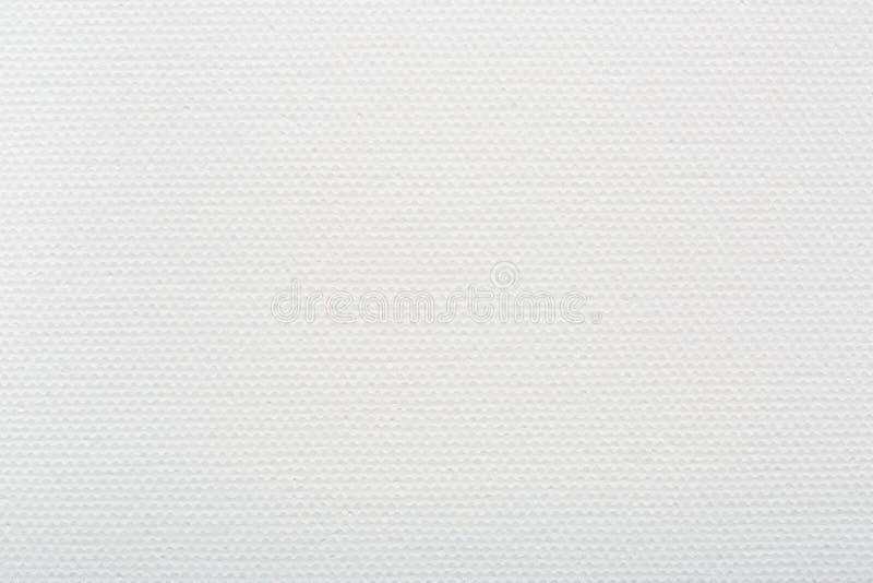 白色帆布背景,画家的纹理 免版税库存照片
