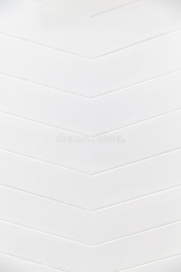 白色干净的水泥舷梯倾斜道路方式顶视图  免版税库存图片