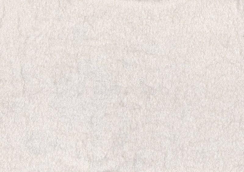 白色开士米纹理 图库摄影