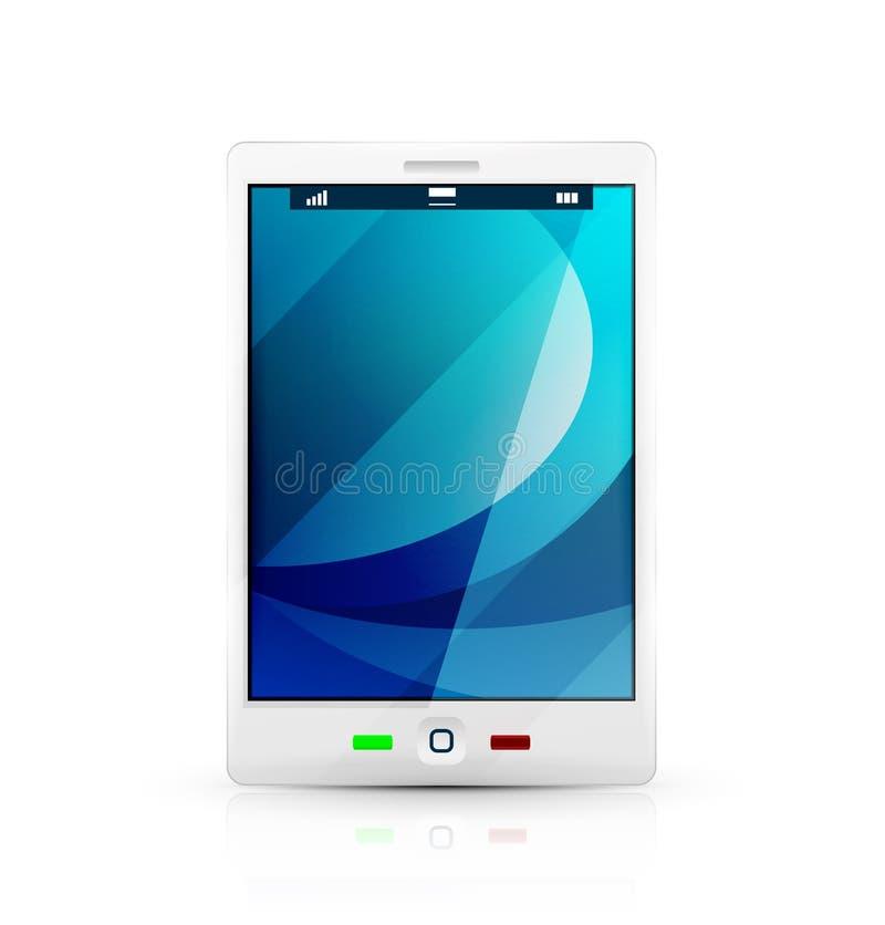 Download 白色手机象 库存例证. 插画 包括有 概念, 信息, 购买权, 蓝色, 光滑, 互联网, 可移植, 拨号 - 30335222