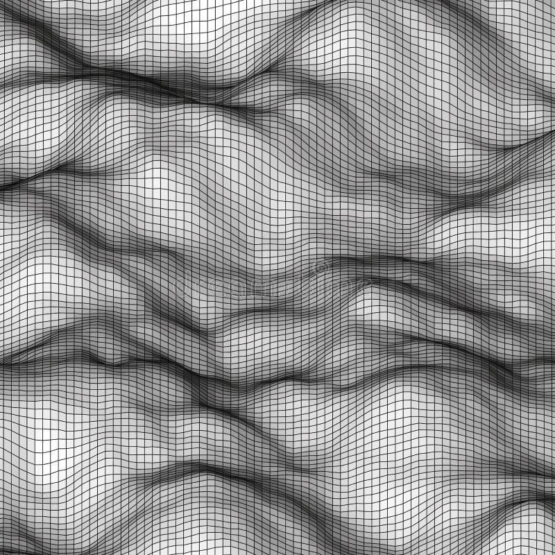 白色抽象多角形背景 库存例证