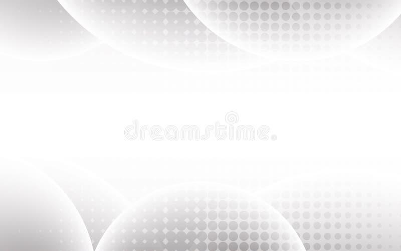 白色抽象背景传染媒介 抽象灰色 现代设计b 库存例证