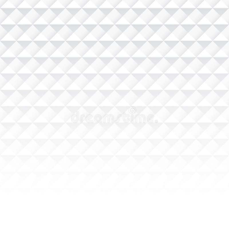 白色抽象背景传染媒介 向量例证
