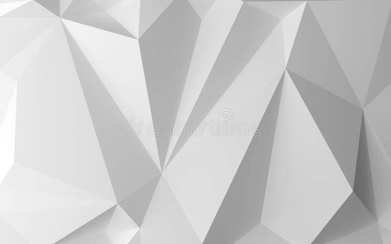 白色抽象背景 库存例证